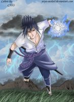 Chidori in the Storm by Uchiha-Texugo