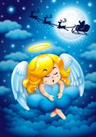 Angel's Xmas Dreams by Saberox