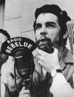 Che Guevara radio talking in visit to Spain 1959 by dlink97