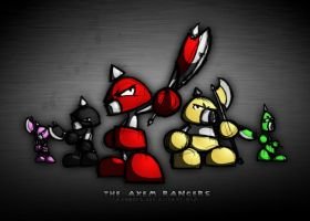 The Axem Rangers by ArcZero