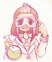 Science girl by scilk