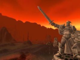 Wow Burning Steppes  4 Wallpaper by Swiftstone