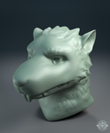 Sculpt bust commission - Rat character by chemb0t
