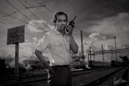 Train Station Officer by ditya