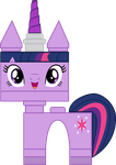 Unikitty Twilight by kwark85