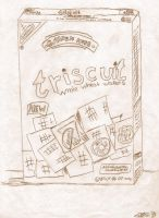 Triscuit Study by pegacorna2