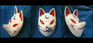 Demon Mask:  Sesshoumaru by kkoorime