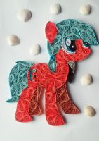 Quilling - Mosaic (MLP OC) by Sszymon14