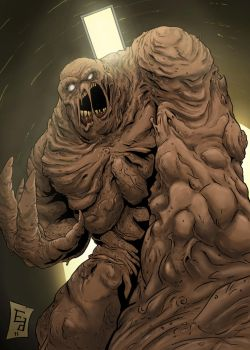 Clayface by EdwardDelandreArt