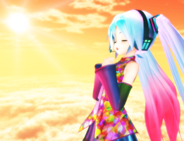 Miku: Colorful Melody by R-O-K-U-S-H-I