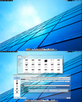 Arch KDE 4.9RC2 BE:SHELL Quick Shot Translucent by CraazyT