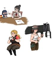 Small Gendebent TF2 Dump by pinkyapple