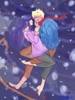 Naruhina AU Jack Frost Cover by blackrouse1