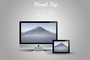 Mount Fuji Wallpaper by Vincee095