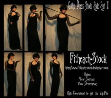 Gothic Dress Stock Pack II by Fitheach-Stock