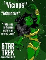 Star Trek: Orion Slave Girl by Sideways8Studios