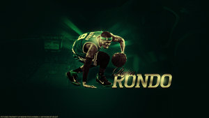Rajon Rondo Wallpaper by bu22y