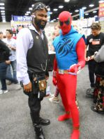 Lord Blackwater and the Scarlet Spider by pa68
