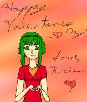 Happy Valentines Day to everyone~!!! by K-chan1