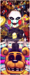 =FNAF melody and the puppet by Amel-Genius17