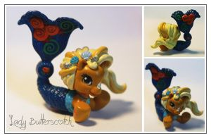 LB Ponyville Mermaid Custom by LadyButterscotch