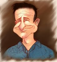 Robin Williams: Tribute Sketch by The-Devils-Music