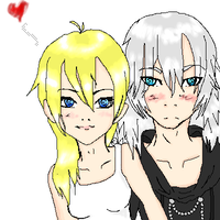 Namine and Riku by Best-Never-Knowing