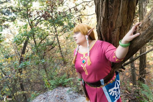 Through Faron Woods by Azure-Rose-Cosplay