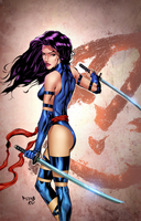 PSYLOCKE Colored by danielpicciotto