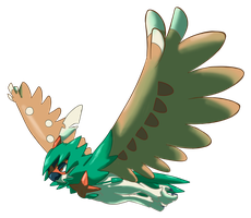 Decidueye by shinyscyther