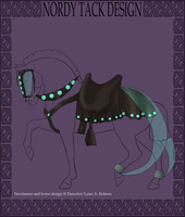 Nordanner Dragon tack design for sale by Hippie30199