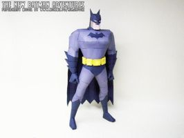 New Batman Adventures papercraft Batman by ninjatoespapercraft