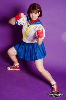 Do you wanna fight? by MeguScarlet-Cosplay
