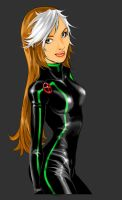 Rogue in Black by Romax25