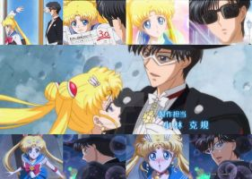 Sailor Moon Crystal (Serena y Darien) by rosedestiny