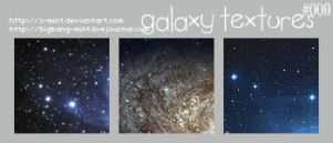 Galaxy Textures by x-mint