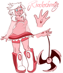 Gemsona Rhodochrosite by SkittyStrawberries