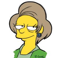 Mrs Krabappel by rongs1234