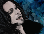 Ville Valo IV by fullcolour-canvas