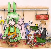 Kami's kitchen by SuperMisurino