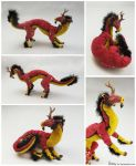 Inyinya the Kirin Poseable Art Doll FOR SALE by Sovriin