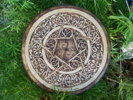 Scrollwork Pentacle reloaded by parizadhe