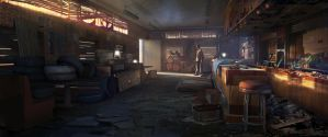The Last of Us - Bill's Bar by EytanZana