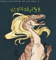 Maybe It's Velociraptor by vern-argh