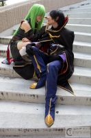 Lelouch and CC by Kakashilover1002