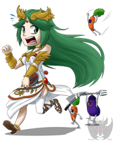 SS - Palutena's Revolting Dinner by KumoriDragon