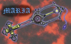 Notre Dame Keyblade - Maria by Rebmakash