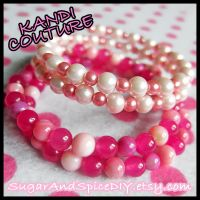 Frankenberry Beaded Bracelet by SugarAndSpiceDIY