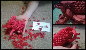 3D Origami - Human Heart by Jobe3DO