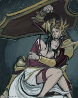 Leona x Ahri by thegadgetfishes